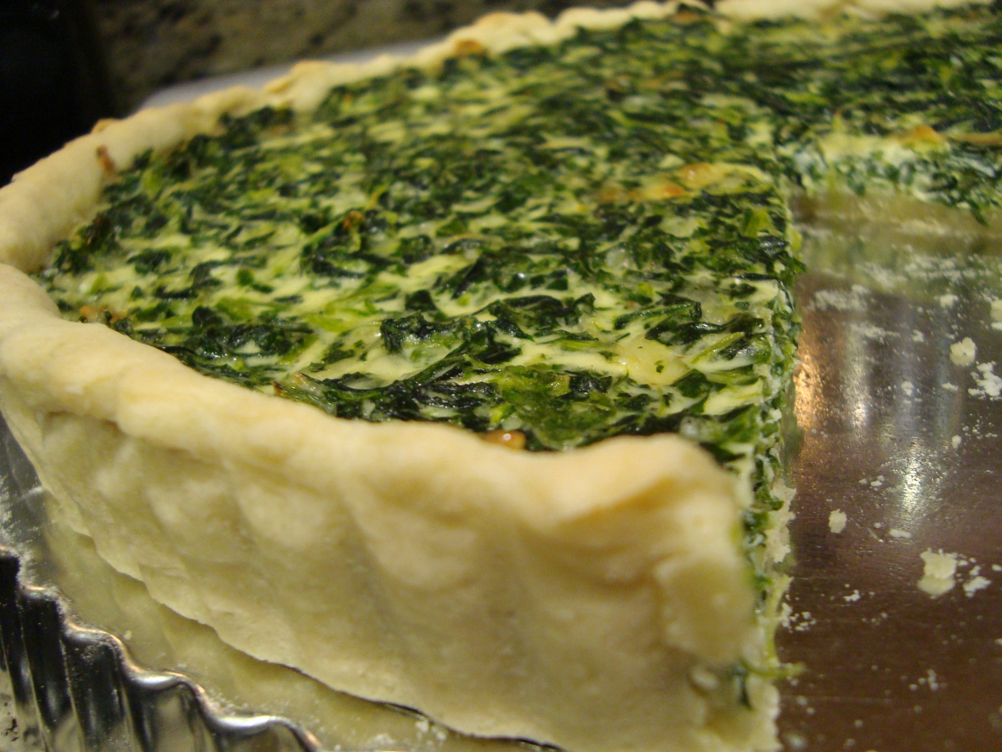gruyere quiche spinach and gruyere quiche spinach leek gruyere spinach ...