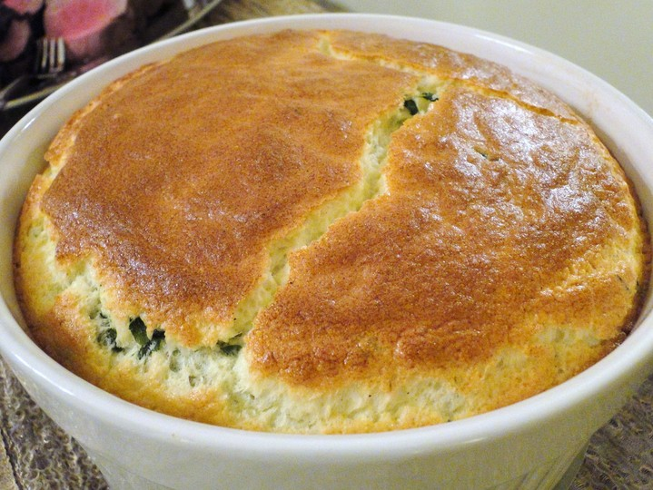 Spinach souffle | Marshmallows & Margaritas