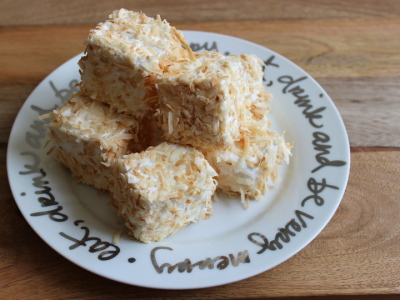 toasted coconut marshmallows | marshmallows and margaritas