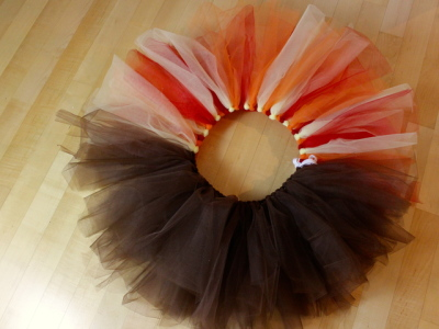 diy turkey trot tutu