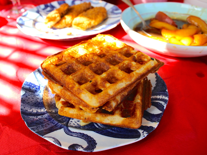 buttermilk and brown butter brown butter pumpkin waffle brown butter ...