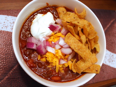 beef bacon and beer chili