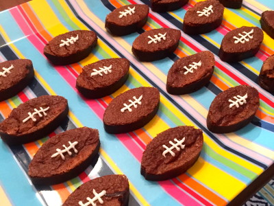 nutella football brownies