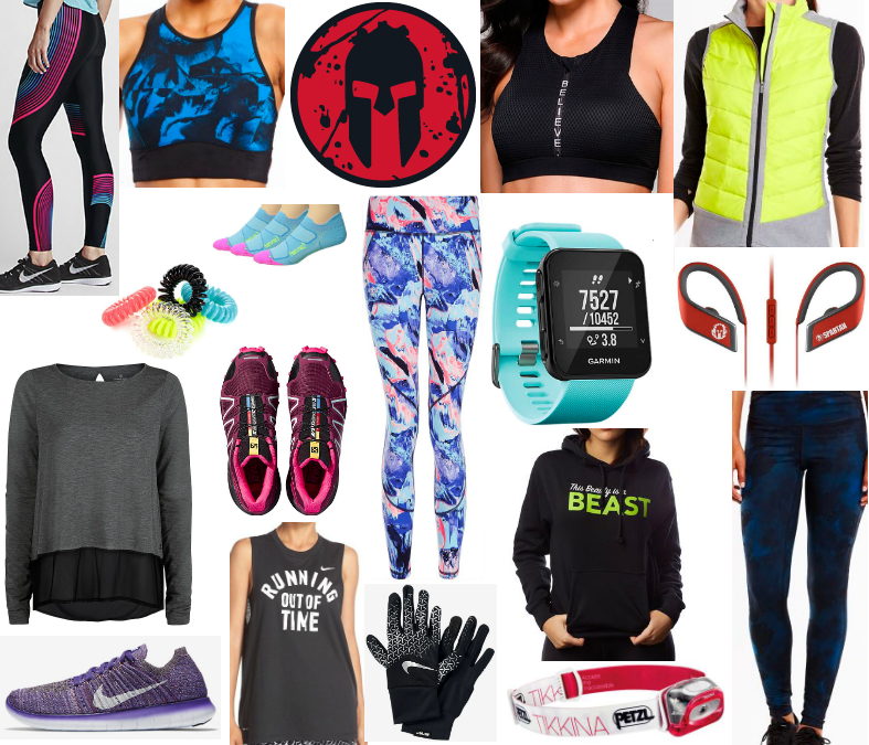 gifts for runners and Spartans