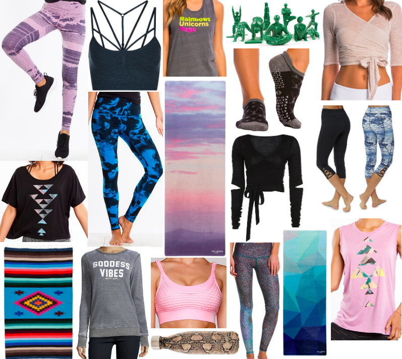 gifts for yoga and barre girls