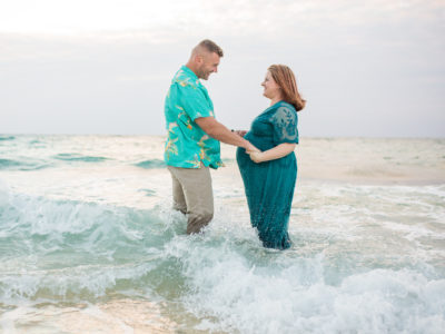 mermaid maternity vibes photo by Alison Bell Photography